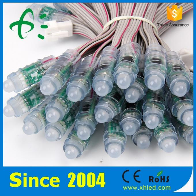 DC5V digital rgb led pixel 12mm led module string light programmable